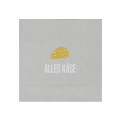 """Räder Design Papierserviette Cocktailservietten """"Alles Käse"""""""