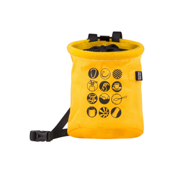 Edelrid CHALK BAG ROCKET TWIST - Chalkbag - gelb