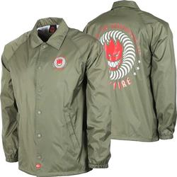 Jacke SPITFIRE - Ktul Army Grn/Red/Wht (ARMY GRN-RED-WHT) Größe: L
