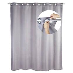Wenko Comfort Flex Duschvorhang (B x H) 180cm x 200cm Polyester Grau waschbar