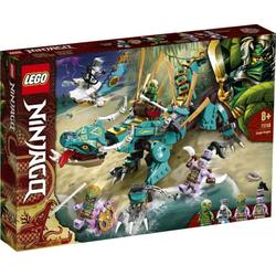 LEGO® Puzzle LEGO® NINJAGO 71746 Dschungeldrache, Puzzleteile