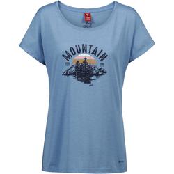 OCK T-Shirt Damen in taubenblau, Größe 42 taubenblau 42