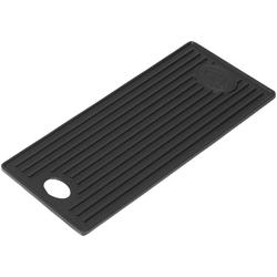 OUTDOORCHEF Grillplatte DGS®, Gusseisen, Emaille, (1-St), BxT: 20,3x44 cm
