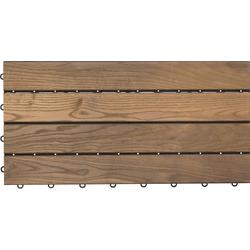 florco® Terrassenplatten XL, 30x60 cm, 6-St., Klickfliesen