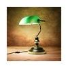 lux.pro lux.pro Tischleuchte, Nostalgische Bankerlampe Colonia - 1x E27