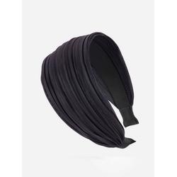 axy Haarreif Breiter Haarreif Wunderschön, Damen Breiter Haarreif Haarband Haarreifen grau