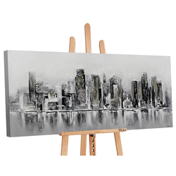 YS-Art Gemälde Megapolis