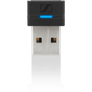 Sennheiser BTD 800 USB ML Bluetooth Netzwerkkarte und Adapter – Karten und Adapter Netzwerk (kabelgebunden/kabellos, USB, Bluetooth, A2DP, AVRCP, HFP, HSP, Schwarz, 25 m)
