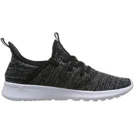 adidas Cloudfoam Pure black-dark grey/ white, 36.5