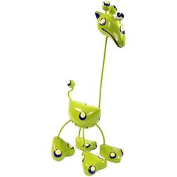 Guru-Shop Dekofigur Dekofigur Giraffe bunt