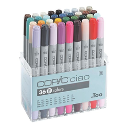36er-Set COPIC® Ciao E Layoutmarker, COPIC® Ciao