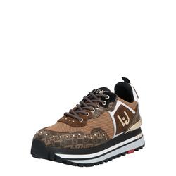 Liu Jo Damen Sneakers 'Liujo Wonder Maxi 01' gold / beige / braun, Größe 36, 4873242