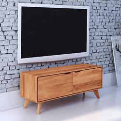 Fernseher Schrank aus Kernbuche Massivholz 120 cm breit