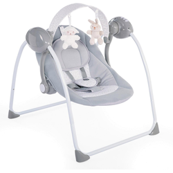 Chicco Babyschaukel Relax & Play, Cool Grey, elektrisch
