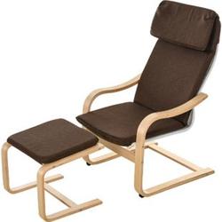 HOMCOM Relaxsessel mit Fußhocker   Ruhesessel Relaxstuhl TV-Stuhl Wohnzimmersessel