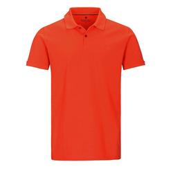 BASEFIELD Poloshirt rot L