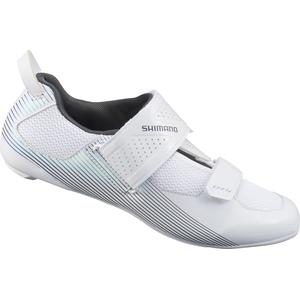 Shimano SH-TR5W Triathlon Schuhe Spd-sl white (W01) 43