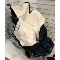 JOKA international Winterschutzhaube Rollstuhl Wärmesack, Wasserabweisend
