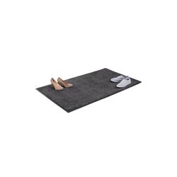 Fußmatte Schmutzfangmatte grau, relaxdays, Höhe 7 mm 150 cm x 90 cm x 7 mm