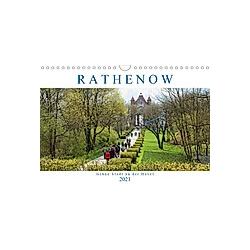 Rathenow - Grüne Stadt an der Havel (Wandkalender 2021 DIN A4 quer)