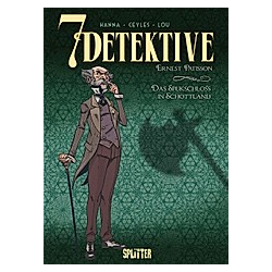 7 Detektive: Ernest Patisson - Das Spukschloss in Schottland. Herik Hanna  - Buch
