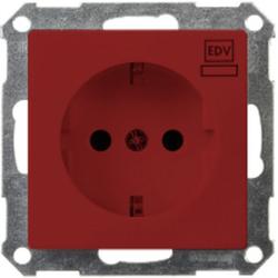 ELSO 265109, Steckdose bedruckt EDV 16A Joy Steckklemme rot