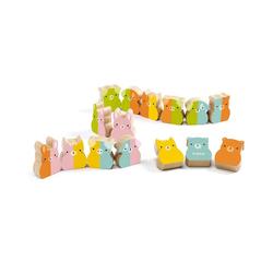 DJECO Lernspielzeug Kleinkind-Lernspielzeug Tiny-up Domino