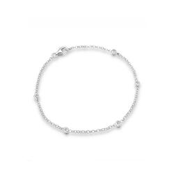 Elli Armband Klassisch Basic Kristalle 925 Silber, Kristall Armband 18
