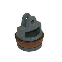 XCLOU Wasserpumpe Kolben für Schwengelpumpe Typ 75 komplett − Ersatzteil für Wasserpumpe − aus Grauguss & Rindsleder − Ø 8cm, H 9,3cm
