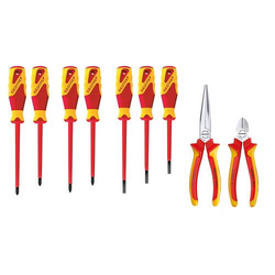 Gedore 2836203 Heimwerker Werkzeugset in Tasche 9teilig