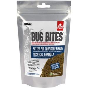 Fluval Bug Bites Alleinfutter für Süßwasserfische, M-L, 1er Pack (1 x 125 g)