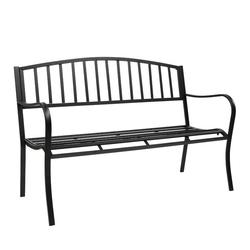 FCH Gartenbank, Gartenbank Metallbank Garden Bench mit Metallstreben