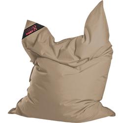 Sitzsack BIGFOOT SCUBA, 130 x 170 cm, khaki beige