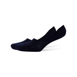 Burlington Füßlinge Damen Socken Everyday 2er Pack - Fuesslinge, Anti blau 39-40 (5.5-6.5 UK)