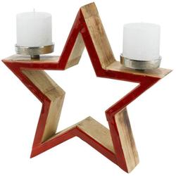 Kerzenhalter Stern, Ø 32 cm