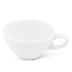 Walküre Porzellan Tasse Teetasse, 0,2l Alta Weiß Walküre Porzellan, Made in Germany