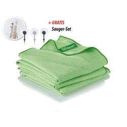 JEMAKO® Trockentuch groß (45 x 80 cm) TrioPack - grün