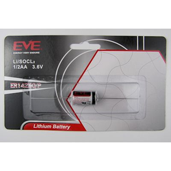EVE ER14250 1/2AA 3,6V Lithium Batterie mit Axialdraht