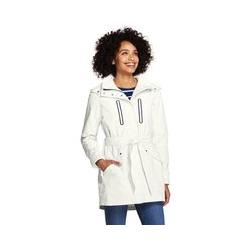 Leichter Mantel SQUALL - M - Weiß