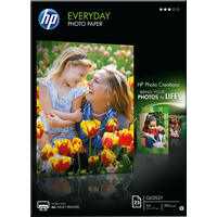 HP Fotopapier Weiß