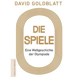 Die Spiele als Buch von David Goldblatt
