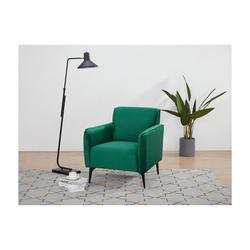 Sessel PERIN - Samt - Smaragdgrün