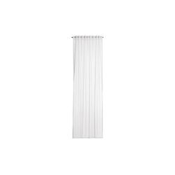 Gözze Vorhang Peru mit verdeckten Schlaufen in weiß, 140 x 245 cm