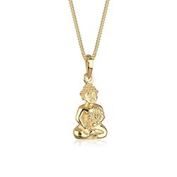Elli Collierkettchen Buddha Karma Glücksbringer 925 Sterling Silber