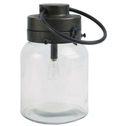 Ib Laursen Kerzenhalter Laterne Windlicht Gartenlaterne H 25cm Metall Glas Ib Laursen 3454-25