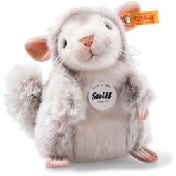 Steiff 070143 Protect Me Chinchi Chinchilla, Plüsch, 18 cm, grau/weiß