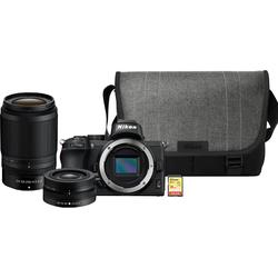Nikon Z50 + 16¿50 mm + 50¿250 mm + Tasche + 16-GB-Speicherkarte