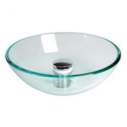 Glas Aufbau Spüle rund 280 mm