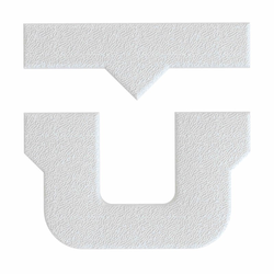 Griptape UNION - U Stomp pad White (WHITE )