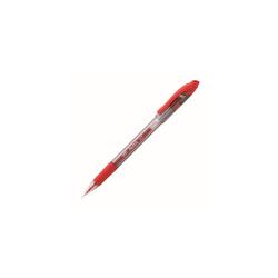 Staples Aura Gelschreiber mit Grip rot 0.7mm 12 St
